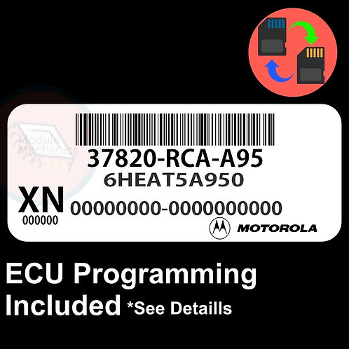 37820-RCA-A95 ECU W/ Immobilizer / Security Programming Honda Accord