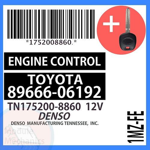 89666-06192 W/ Programmed Master Key Toyota Camry