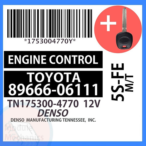 89666-06111 W/ Programmed Master Key Toyota Camry