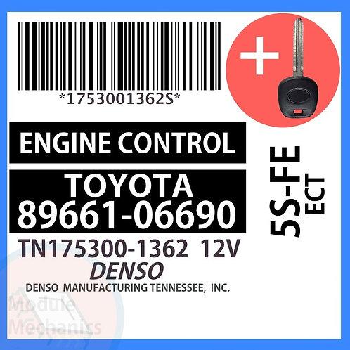 89661-06690 W/ Programmed Master Key Toyota Camry