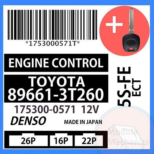 89661-3T260 W/ Programmed Master Key Toyota Camry