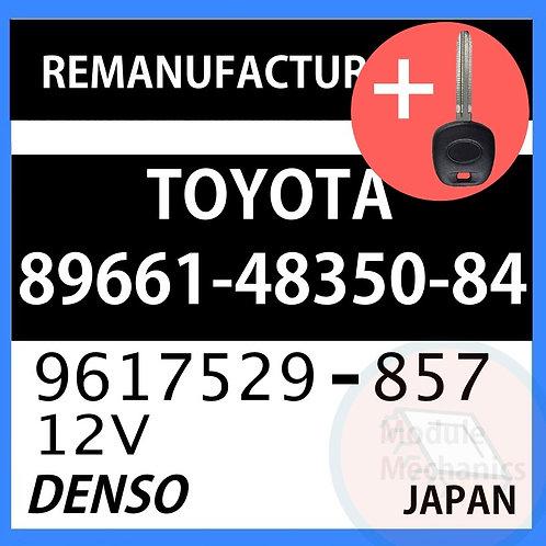 89661-48350-84 ECU W/ Programmed Master Key Toyota Highlander