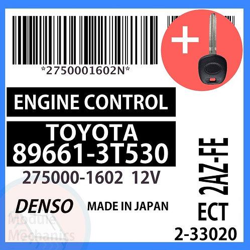 89661-3T530 W/ Programmed Master Key Toyota Camry