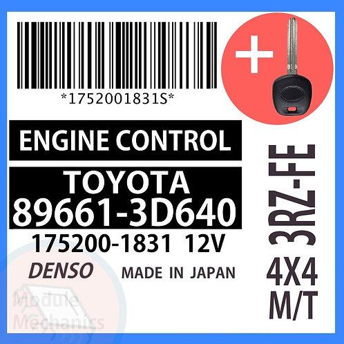 89661-3D640 OEM ECU W/ Programmed Master Key Toyota 4Runner