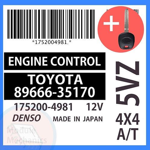 89666-35170 OEM ECU W/ Programmed Master Key Toyota 4Runner