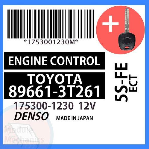 89661-3T261 W/ Programmed Master Key Toyota Camry