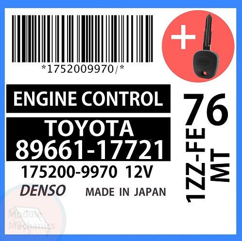 89661-17721 OEM ECU W/ Programmed Master Key Toyota MR2