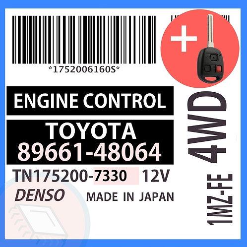 89661-48064 OEM ECU W/ Programmed Master Key Lexus RX300