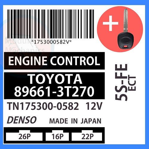 89661-3T270 W/ Programmed Master Key Toyota Camry