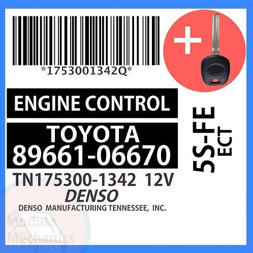 89661-06670 W/ Programmed Master Key Toyota Camry
