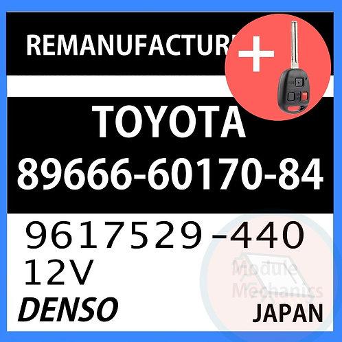 89666-60170-84 OEM ECU W/ Programmed Master Key Lexus LX470