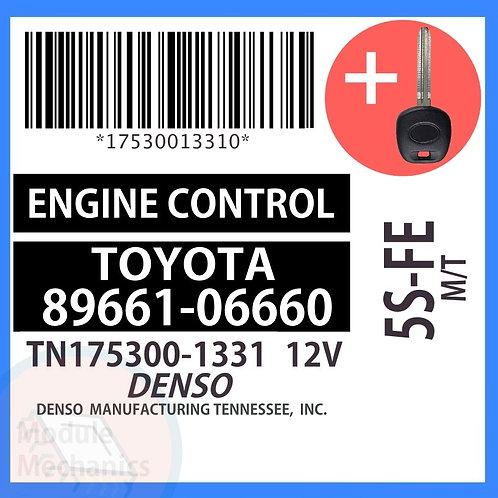 89661-06660 W/ Programmed Master Key Toyota Solara