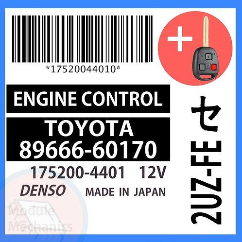 89666-60170 ECU W/ Programmed Master Key Toyota Land Cruiser