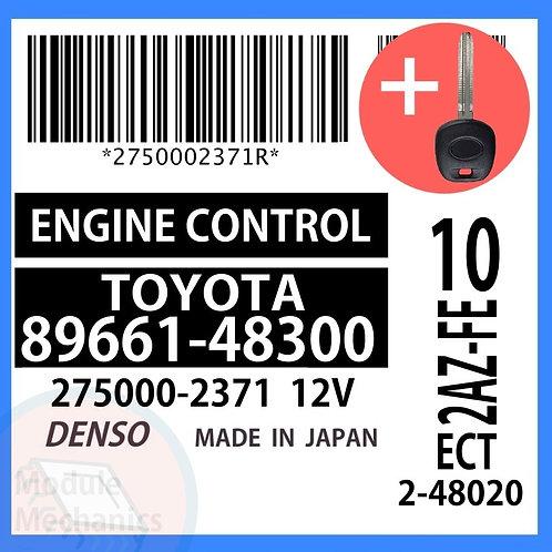 89661-48300 ECU W/ Programmed Master Key Toyota Highlander