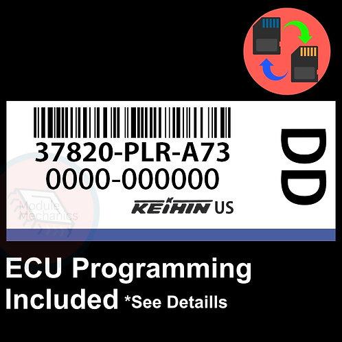 37820-PLR-A73 OEM ECU W/ Immobilizer / Security Programming Honda Civic