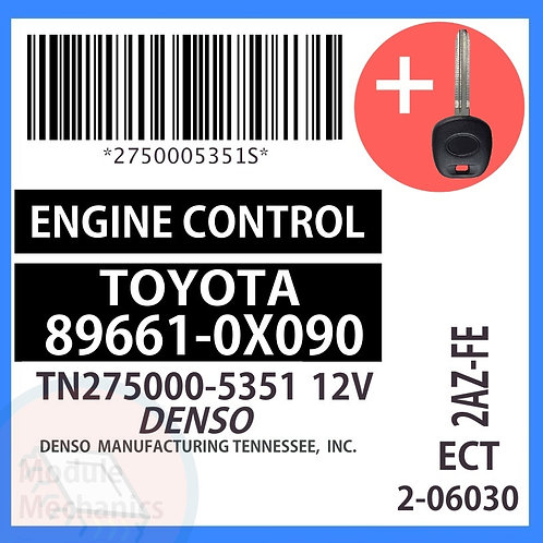 89661-0X090 W/ Programmed Master Key Toyota Solara