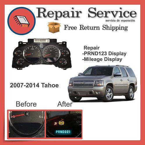 2007-2014 Chevrolet Tahoe Gauge Cluster Repair Service