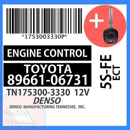 89661-06731 W/ Programmed Master Key Toyota Camry