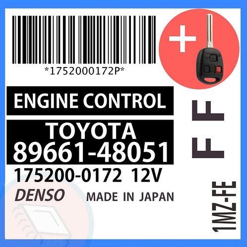89661-48051 OEM ECU W/ Programmed Master Key Lexus RX300