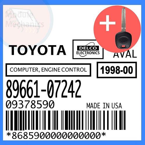 89661-07242 W/ Programmed Master Key Toyota Avalon