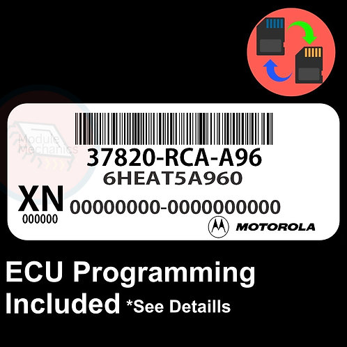 37820-RCA-A96 ECU W/ Immobilizer / Security Programming Honda Accord