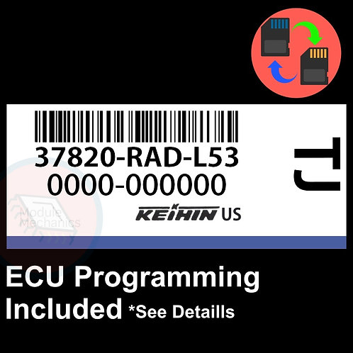 37820-RAD-L53 ECU W/ Immobilizer / Security Programming Honda Accord