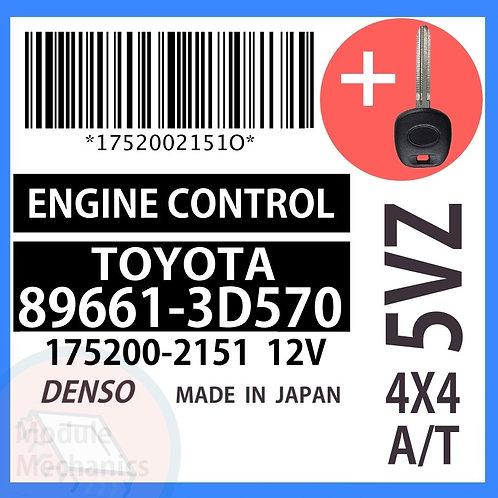 89661-3D570 OEM ECU W/ Programmed Master Key Toyota 4Runner