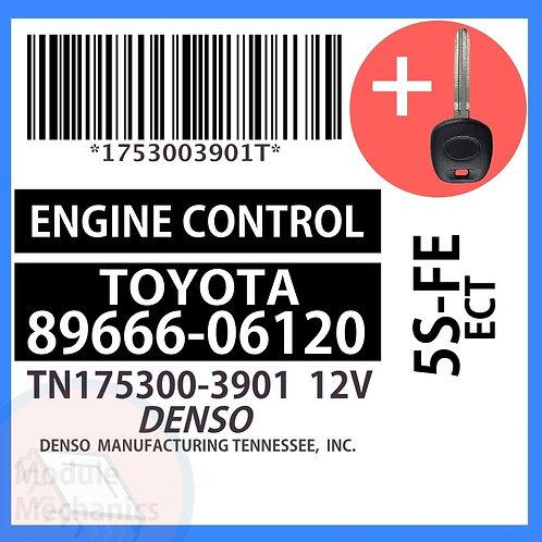 89666-06120 W/ Programmed Master Key Toyota Solara
