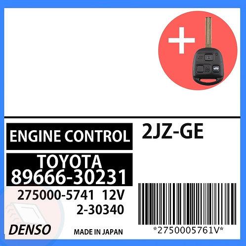 89666-30231 OEM ECU W/ Programmed Master Key Lexus GS300