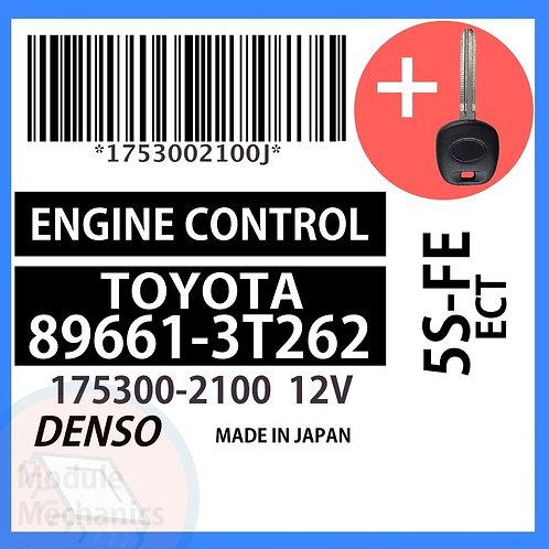 89661-3T262 W/ Programmed Master Key Toyota Camry