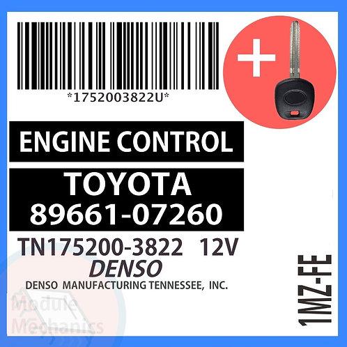 89661-07260 W/ Programmed Master Key Toyota Avalon