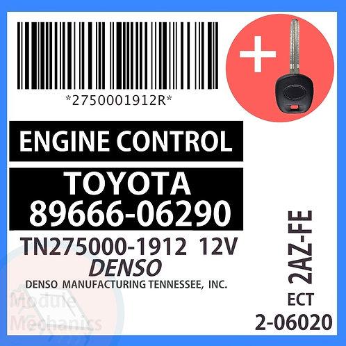 89666-06290 W/ Programmed Master Key Toyota Solara