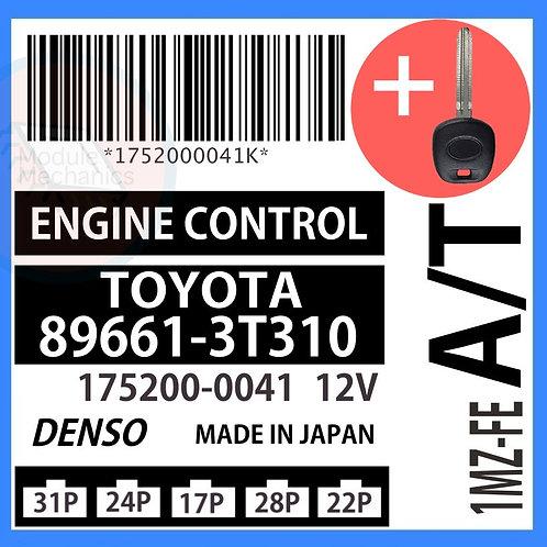 89661-3T310 W/ Programmed Master Key Toyota Camry