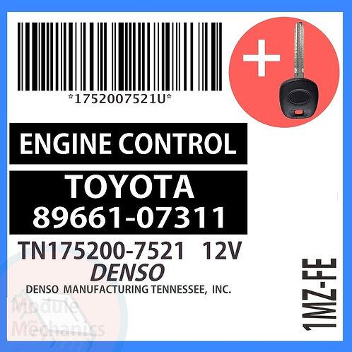 89661-07311 W/ Programmed Master Key Toyota Avalon