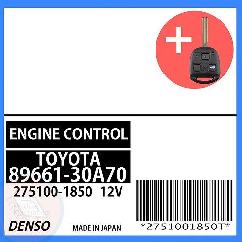 89661-30A70 OEM ECU W/ Programmed Master Key Lexus GS430