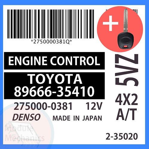 89666-35410 OEM ECU W/ Programmed Master Key Toyota 4Runner