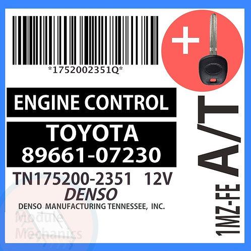 89661-07230 W/ Programmed Master Key Toyota Avalon