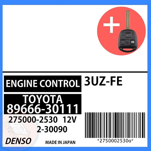 89666-30111 OEM ECU W/ Programmed Master Key Lexus GS430