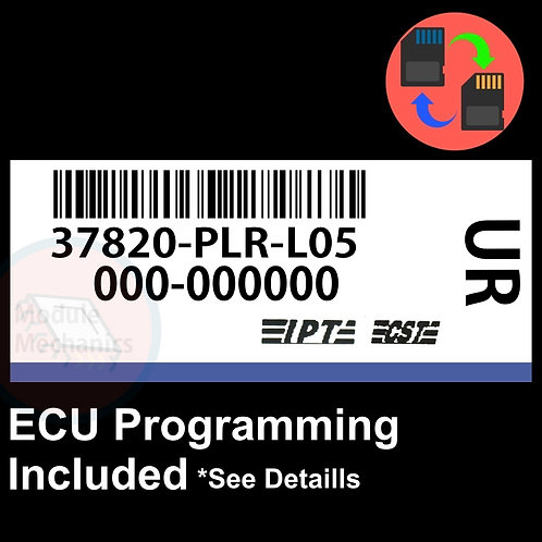 37820-PLR-L05 OEM ECU W/ Immobilizer / Security Programming Honda Civic