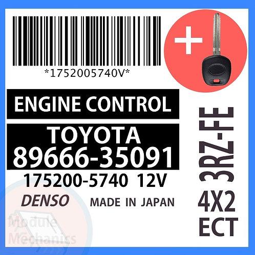 89666-35091 OEM ECU W/ Programmed Master Key Toyota 4Runner