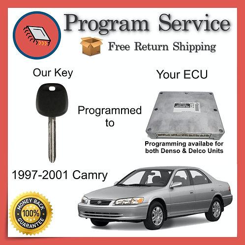 1997-2001 Toyota Camry Engine ECU to Key Programming Service