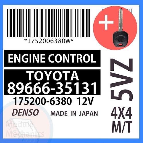 89666-35131 OEM ECU W/ Programmed Master Key Toyota 4Runner