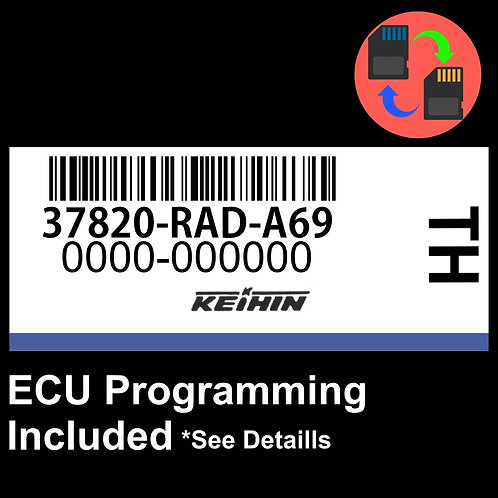 37820-RAD-A69 ECU W/ Immobilizer / Security Programming Honda Accord