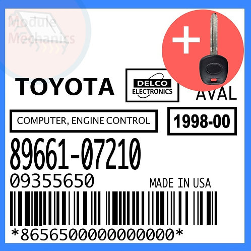 89661-07210 W/ Programmed Master Key Toyota Avalon