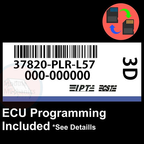 37820-PLR-L57 OEM ECU W/ Immobilizer / Security Programming Honda Civic