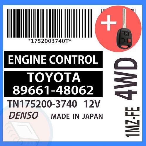 89661-48062 OEM ECU W/ Programmed Master Key Lexus RX300