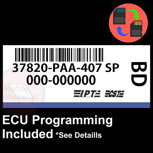 37820-PAA-407 ECU W/ Immobilizer / Security Programming Honda Accord