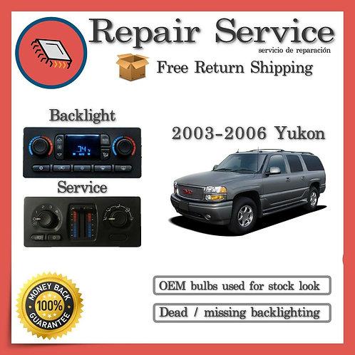 2006 GMC Yukon Climate Control Repair Service