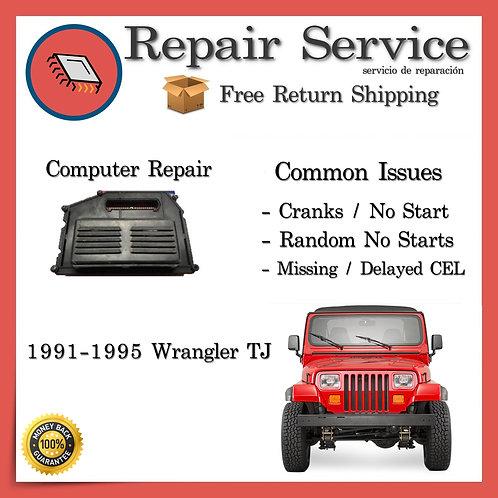 1991-1995 Jeep Wrangler Engine Computer ECU Repair Service