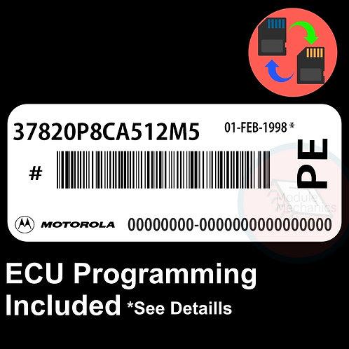 37820P8CA512M5 ECU W/ Immobilizer / Security Programming Honda Accord